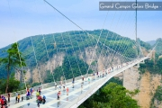 CJ5SQ HAILUOGOU ZHANGJIAJIE with GRAND CANYON GLASS BRIDGE SAVER 10H/08M 2018 : 17 MAY BY : SINGAPORE AIRLINES